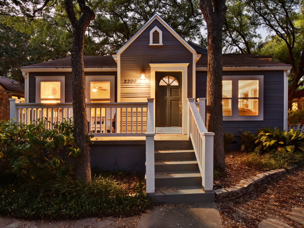 West Austin home house 2200 Sharon Lane exterior front