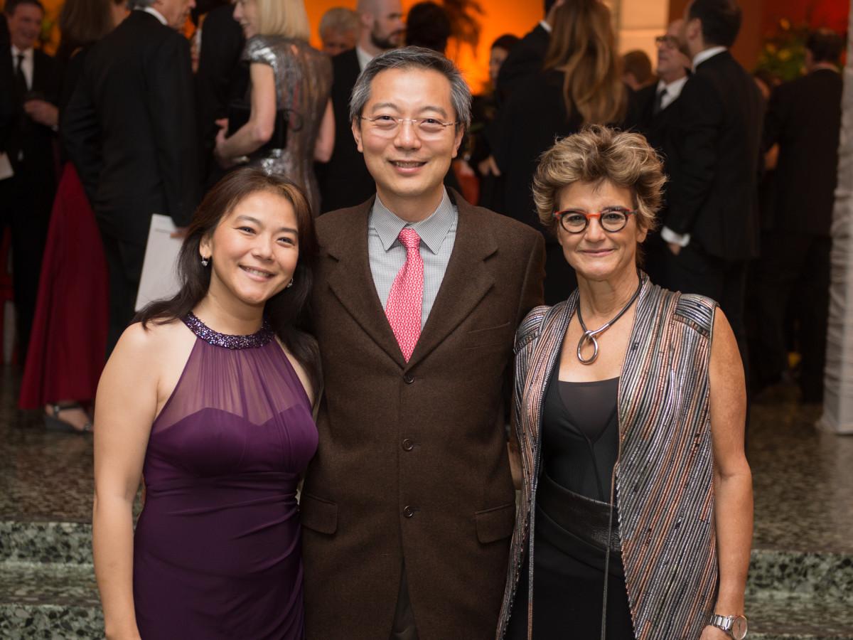 News, MFAH Latin Experience, Nov. 2015Lan and Kuan Yu; Mari Carmen Ramirez