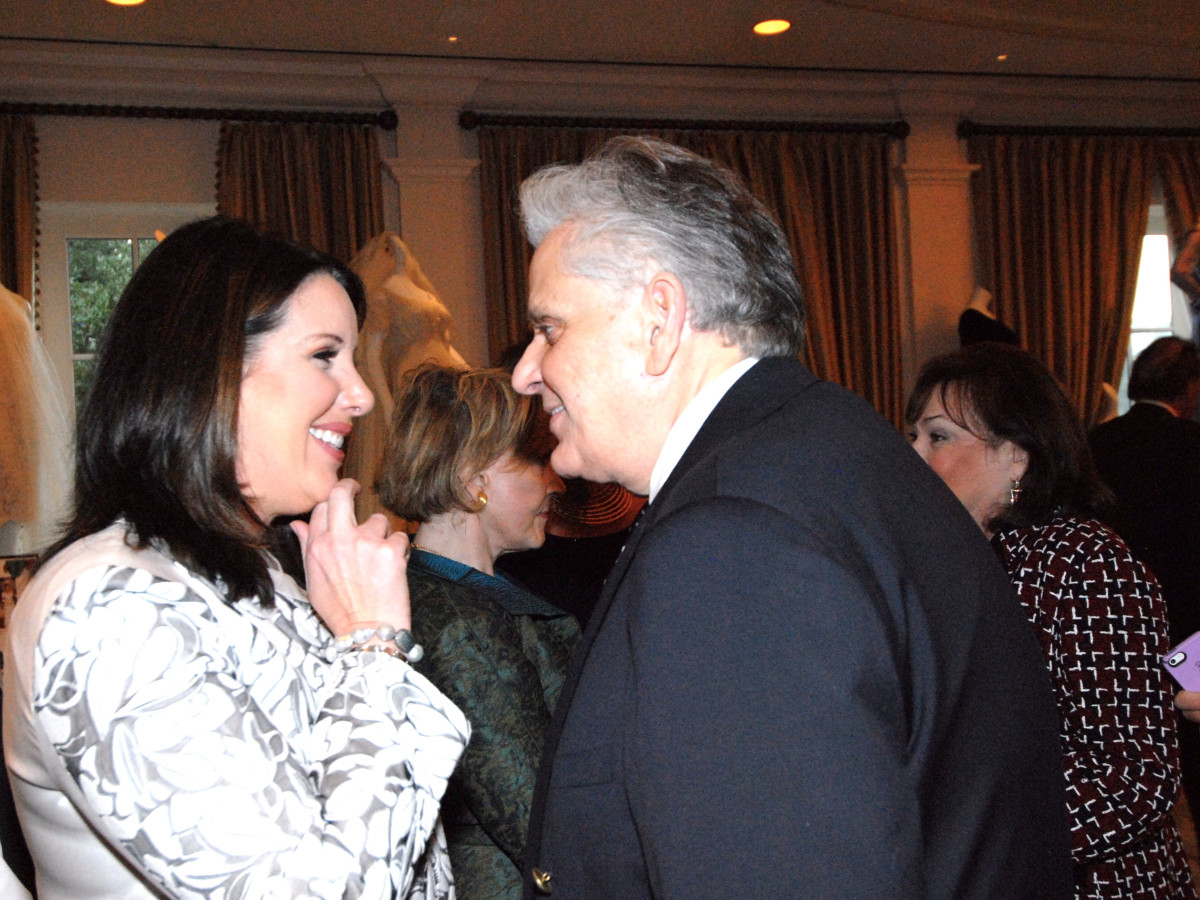 Julie Roberts and Victor Costa at Salute to Retail luncheon