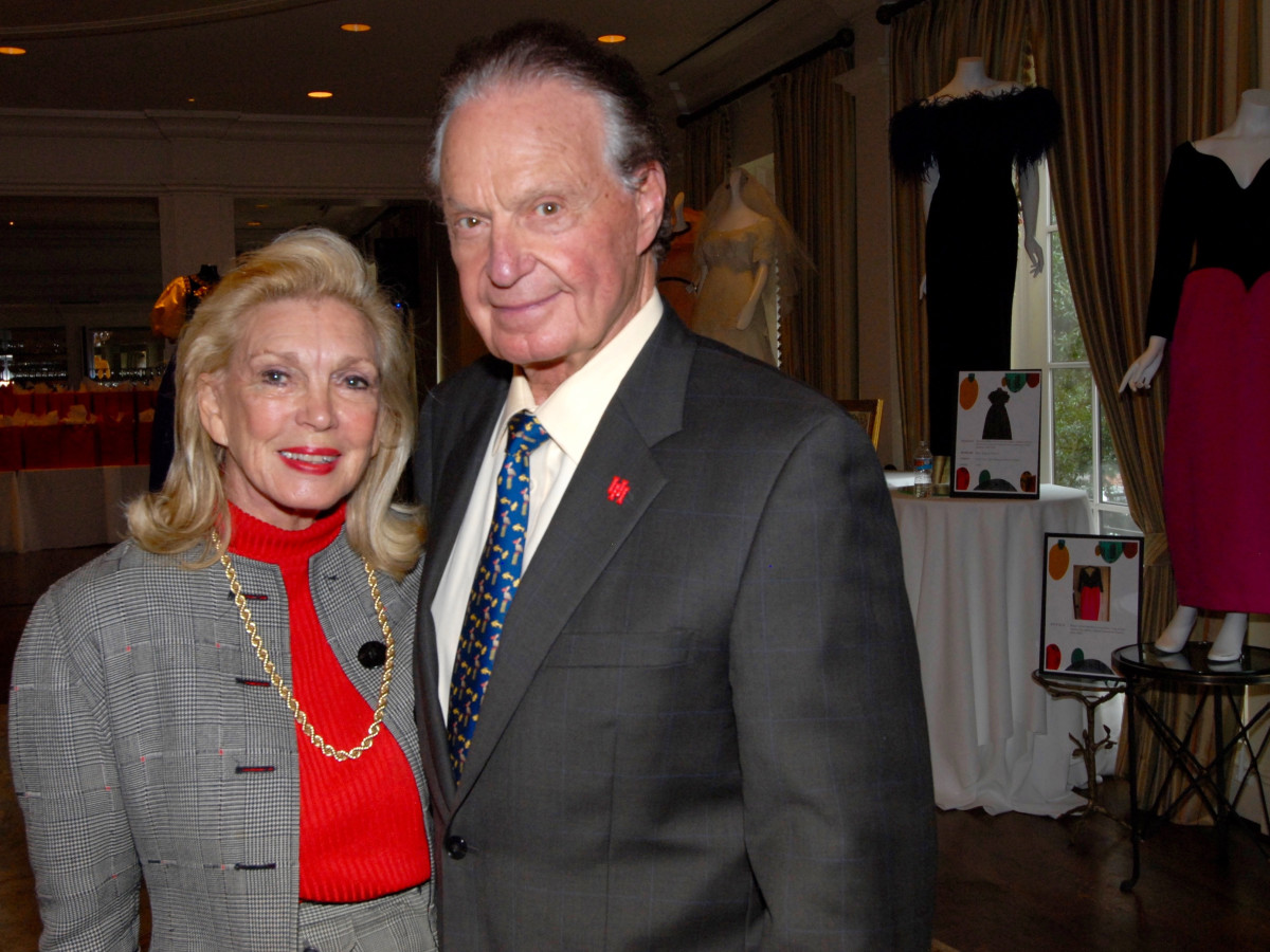 Joanne and Welcome Wilson Sr. at Salute to Retail luncheon