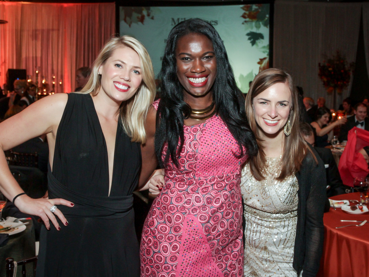 News, Shelby, Women's Home gala, Nov. 2015,  Stephanie McGraw, Yvette Owo, Meaghan Yorro