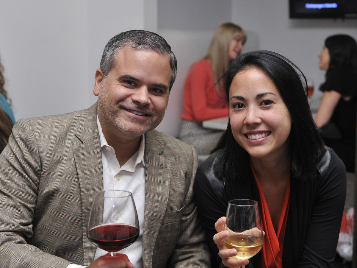 Blanton Museum Art on the Edge Kickoff Party November 2015 Gerard Juarez Naomi Bourgeois