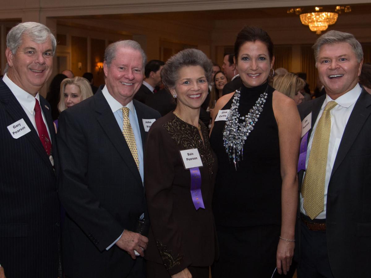 News, Shelby, Houston Bar Harvest Party, Nov. 2015, Gary Pearson, John Pitts, Bain Pearson, Gina Curtis, Jim Pearson