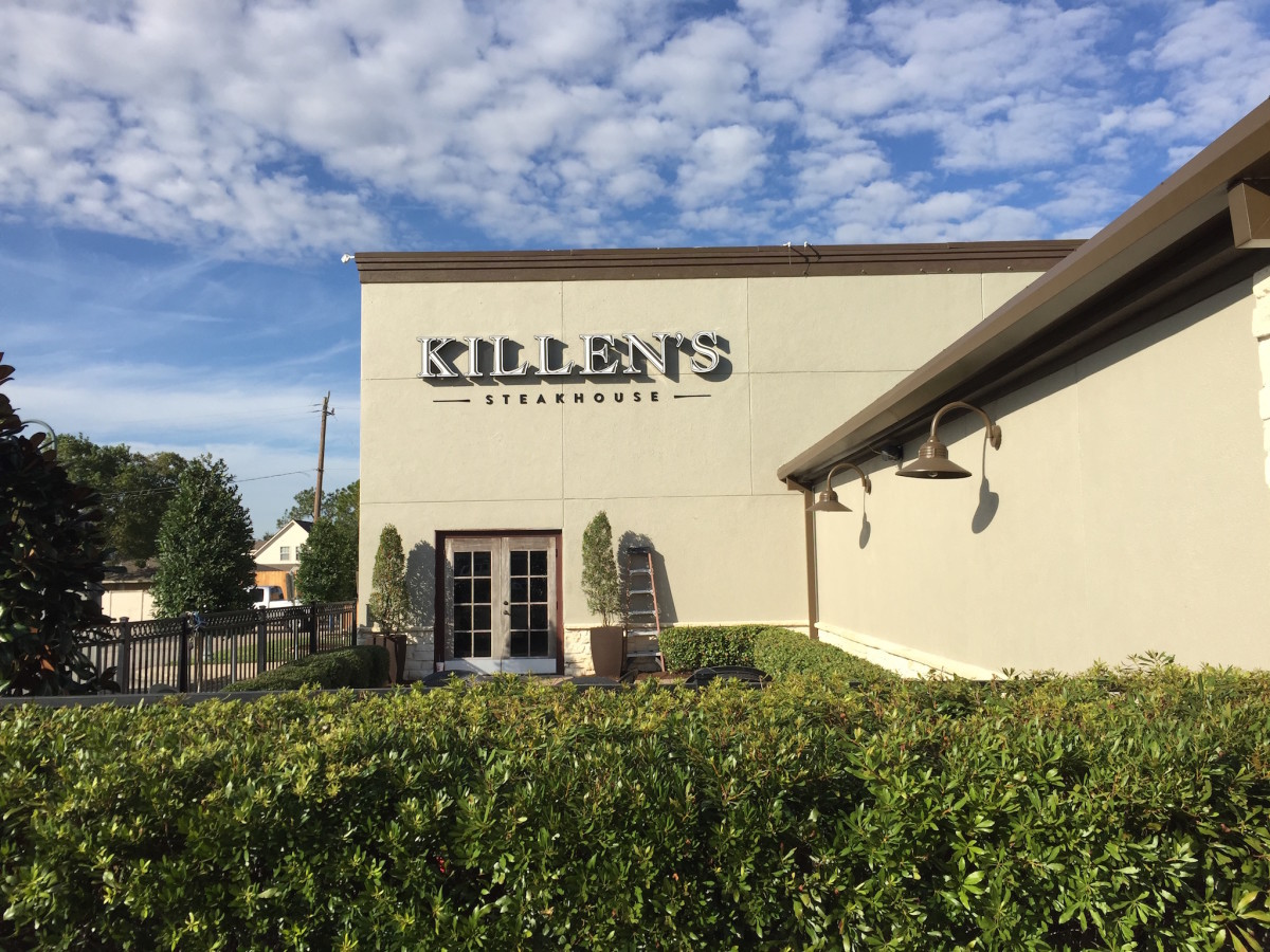 Killen's Steakhouse new location