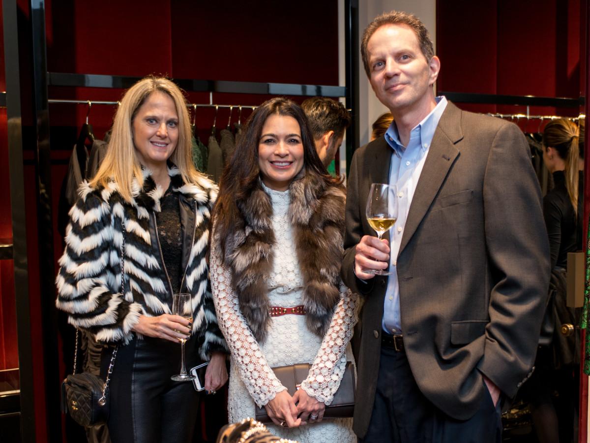 News, Shelby, Dolce & Gabbana dinner, Nov. 2015. Rebecca Ratkiewicz, Michael Villemarette, Rosaliz Ufret