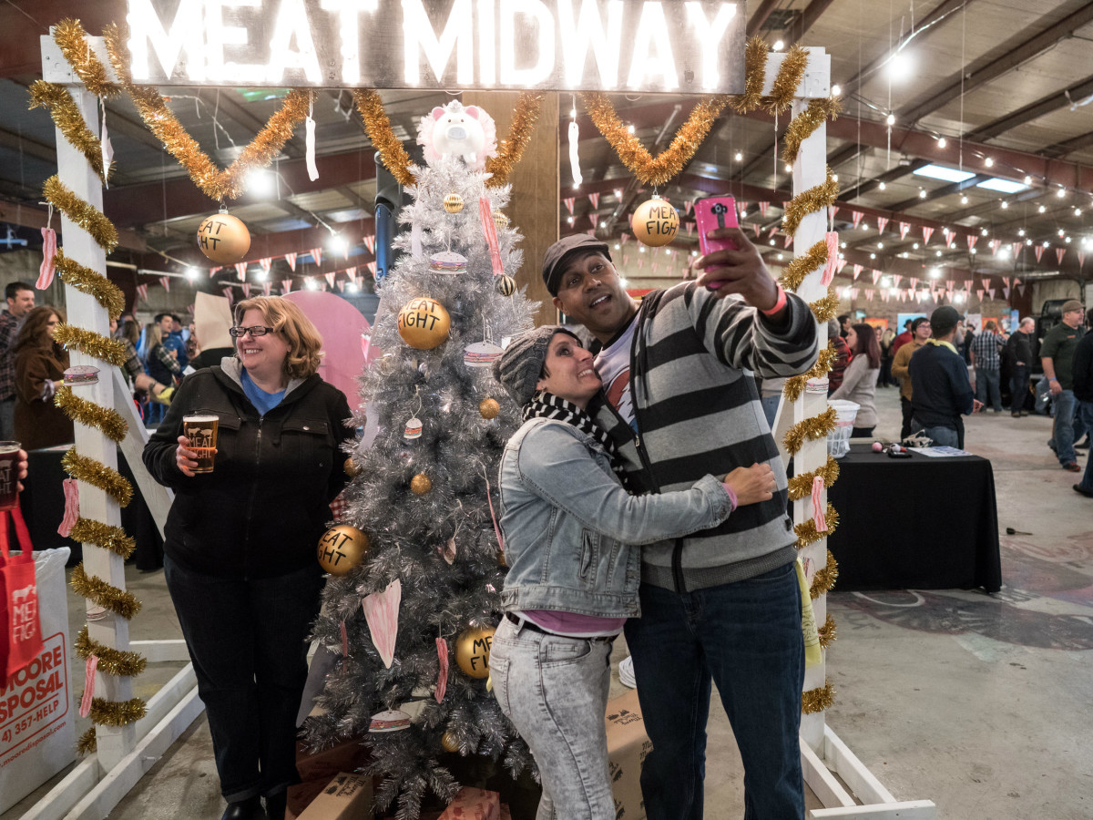 Meat Midway at Meat Fight 2015