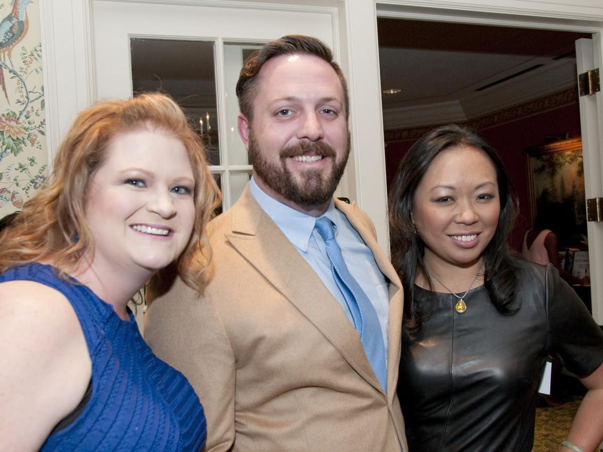 WITS Gala Sarah Schimmer, Ryan Leach, Miya Shay