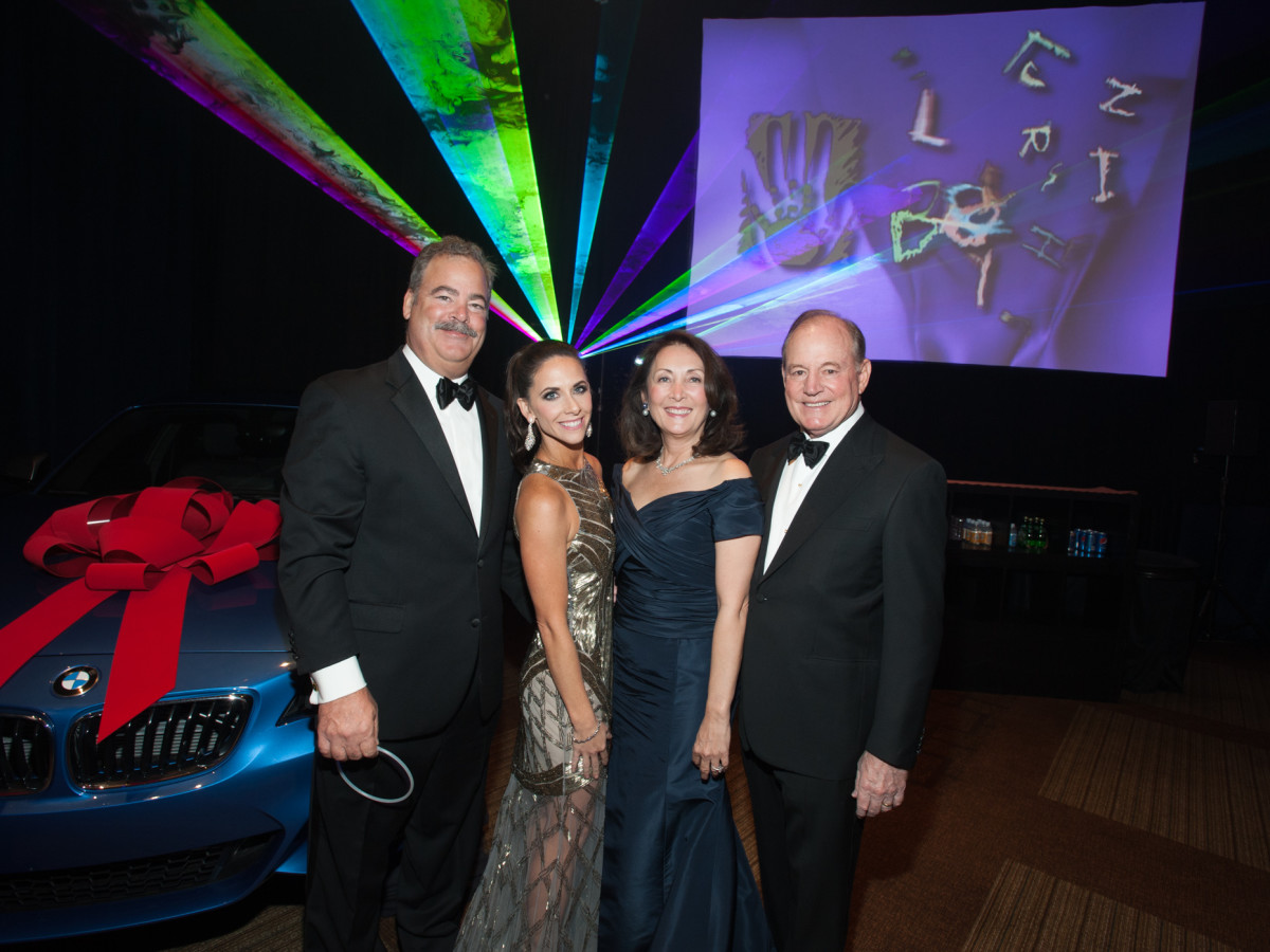 News, Shelby, Houston Children's Charity gala, NOv. 2015, Hannah & Cal McNair and HCC President, Penny Loyd & Paul Loyd, Jr.
