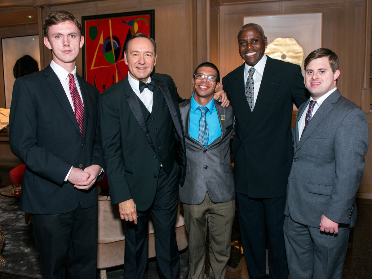 Nathan Brunell, Kevin Spacey, Charles Calhoun, Carl Lewis, Michael Iovine