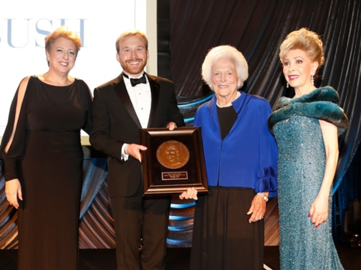 News, Shelby, UNICEF gala, Nov. 2015, Faith Hill, Margaret Alkek Williams, Barbara Bush, Caryl Stern