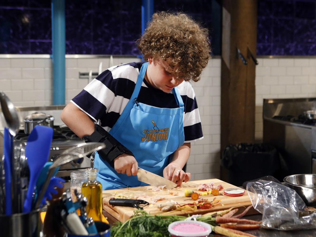 Chef Jack Crabb Chopped Jr Food Network television show November 2015