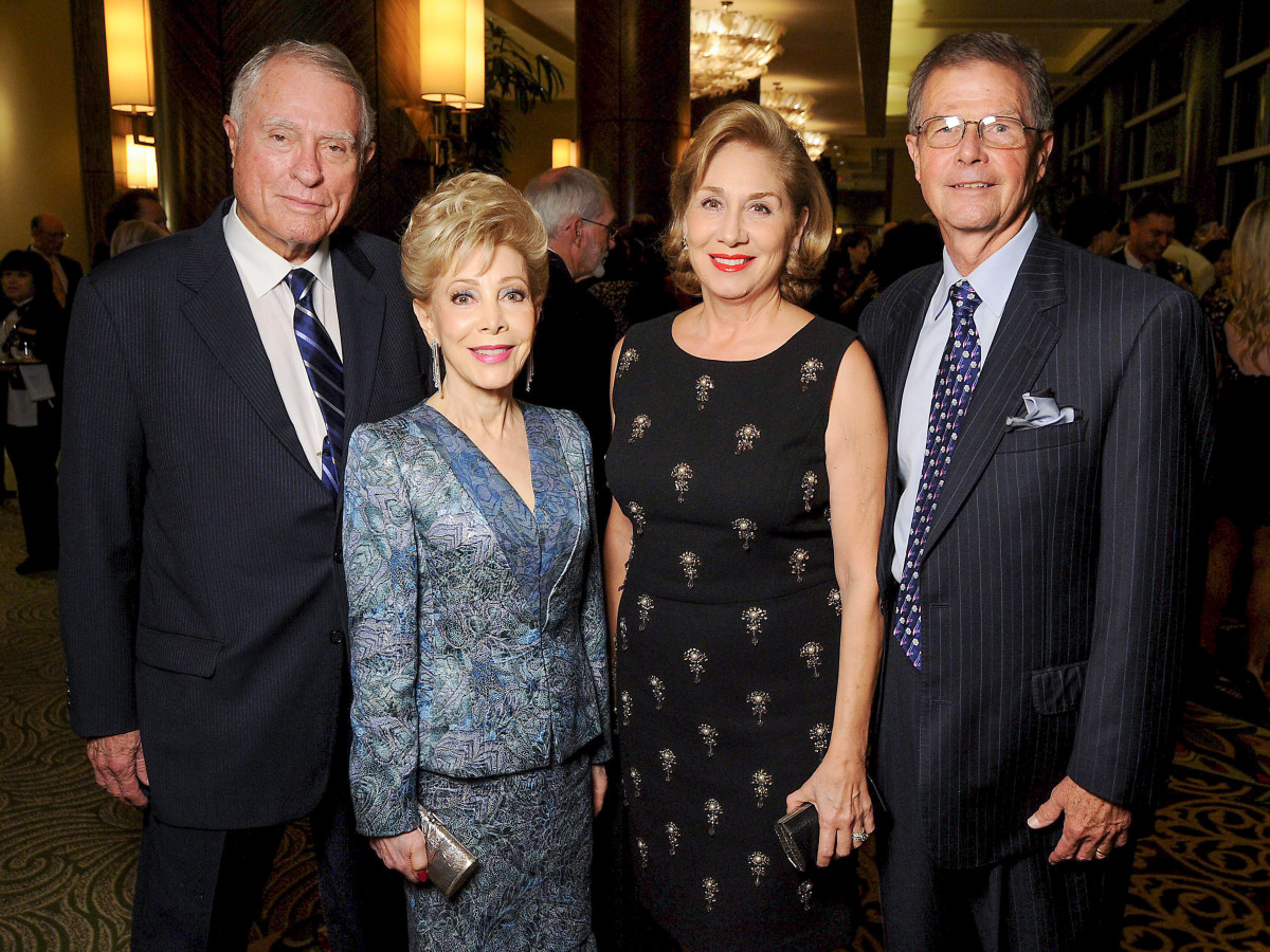 News, Shelby, MD Anderson Living Legend, Nov. 2015, Jim Daniel, Margaret Alkek Williams, Denise Bush Bahr, Philip Bahr