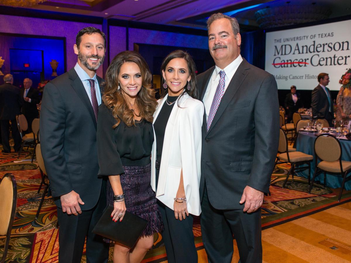 News, Shelby, MD Anderson Living Legend, Nov. 2015, Brad marks, Joanna Marks, Hannah McNair, Cal McNair