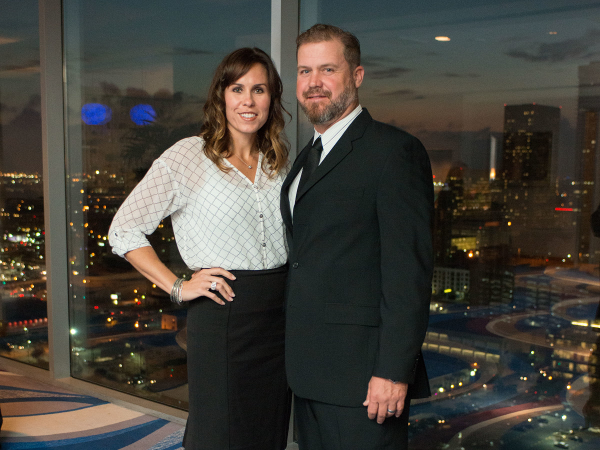 News, Shelby, MD Anderson Living Legend, Nov. 2015, Erin Lechler, Shane Lechler