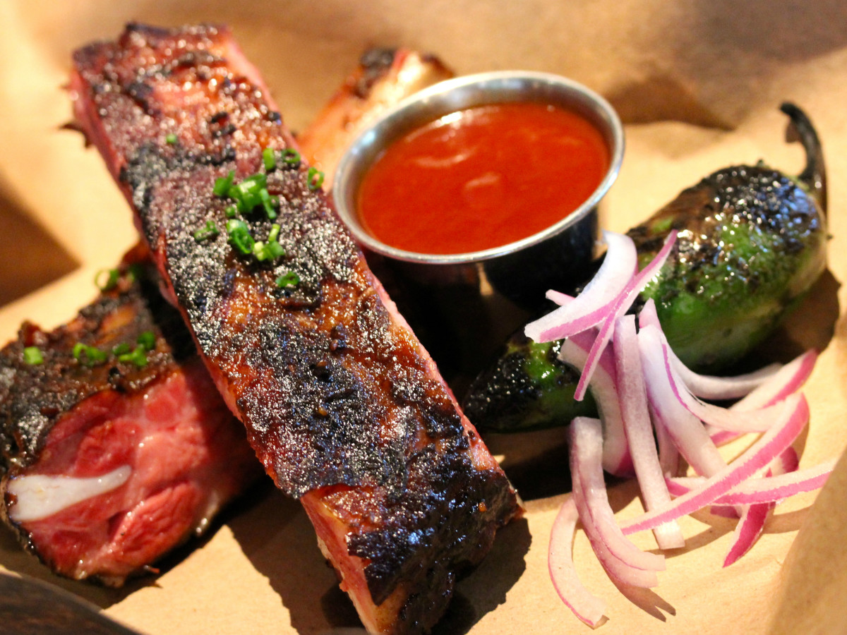 Hickory Plano restaurant barbecue ribs 2015