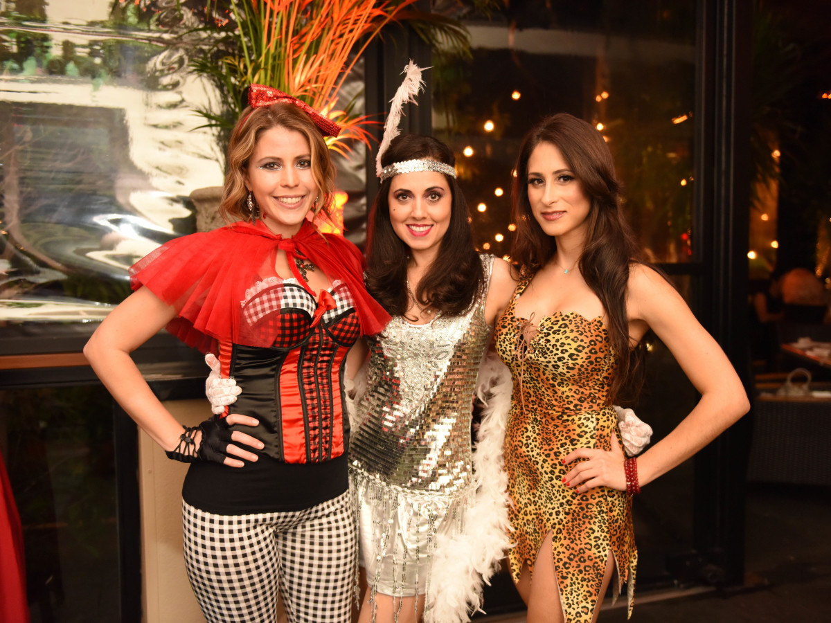 News, Shelby, Hotel ZaZa Halloween, Oct. 2015 Marieliz Garcia, Carolina Salazar, Mayte Piñero