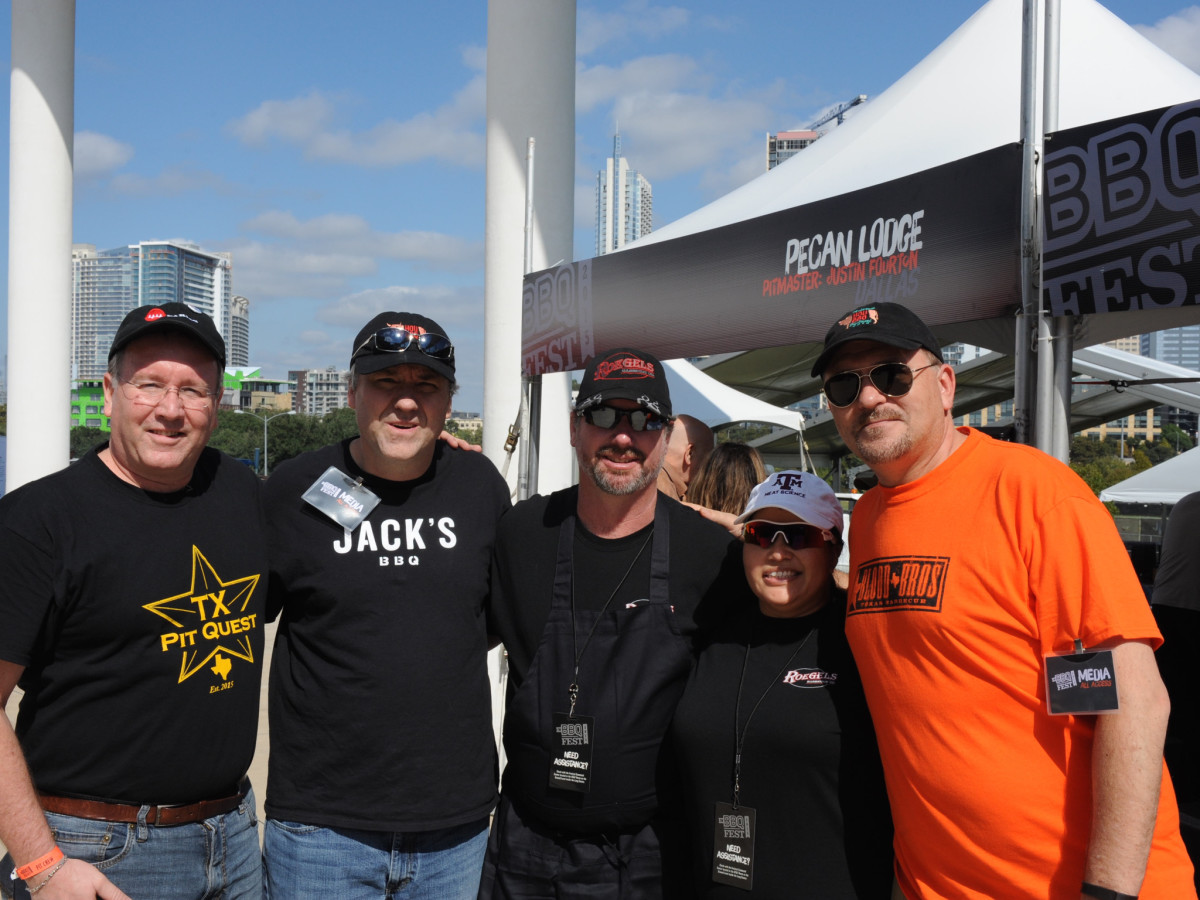Texas Monthly BBQ Fest 2015 Houston crew