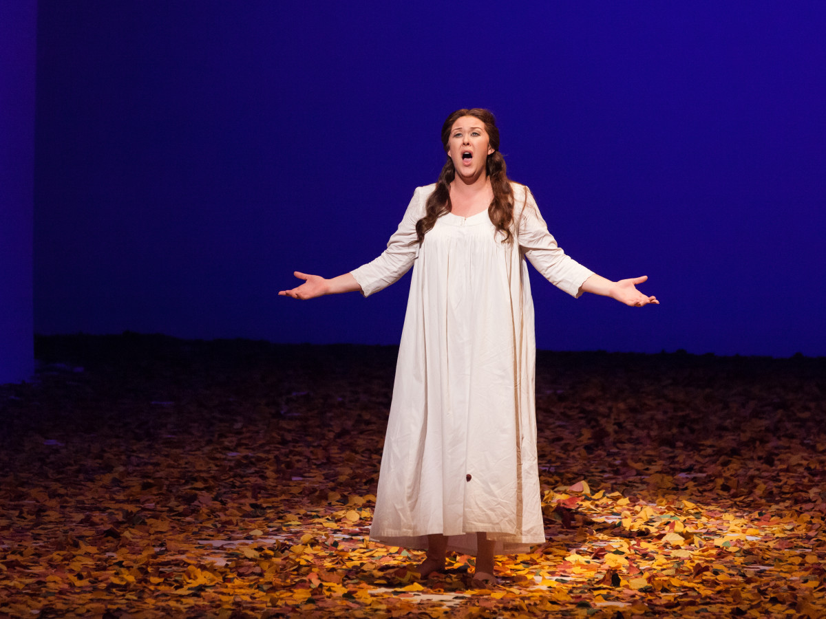 Katie van Hooten in Houston Grand Opera's Eugene Onegin