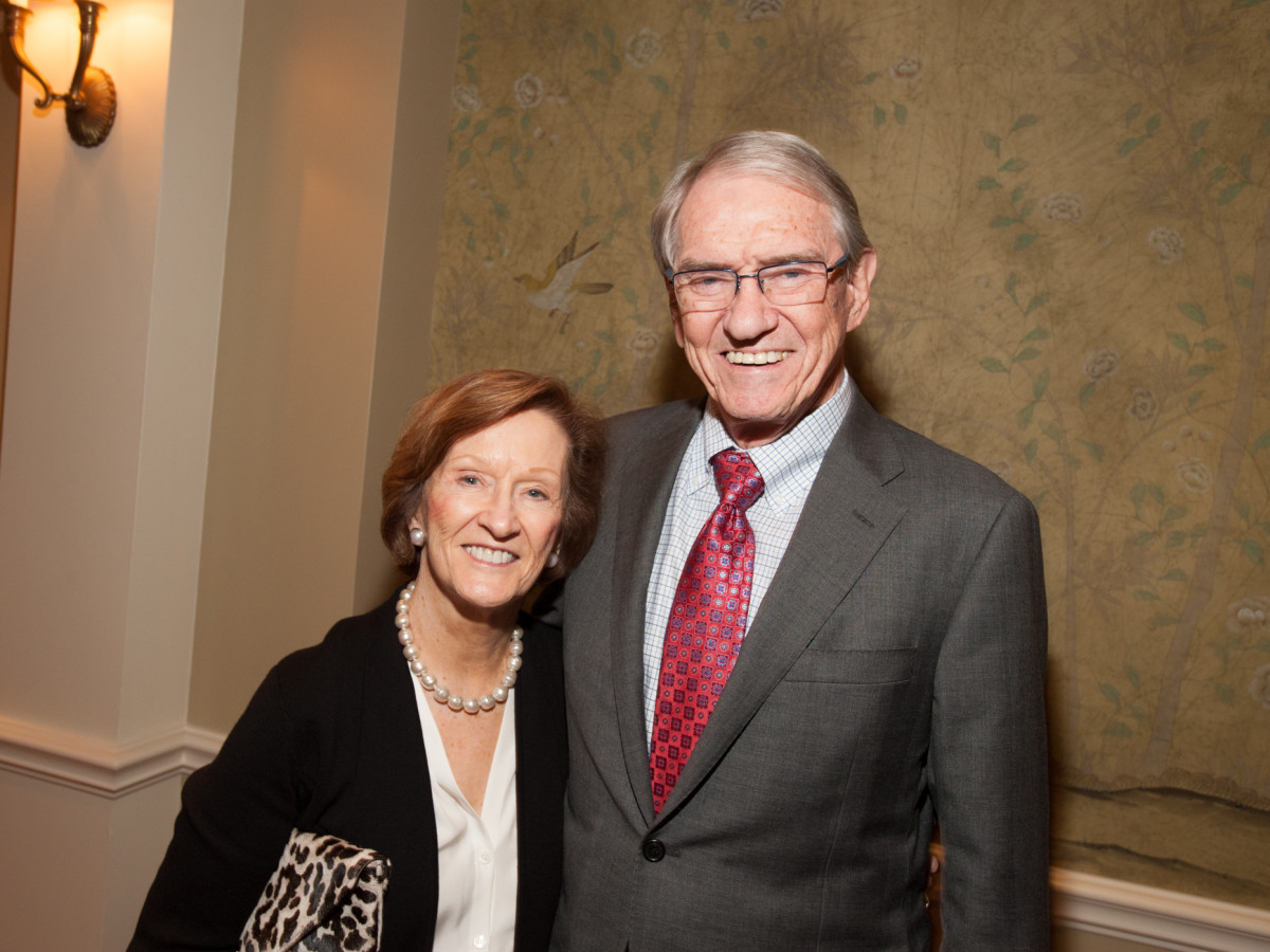 News, Shelby, Hospice dinner, Oct. 2015 Harrie Foster, Joe Foster
