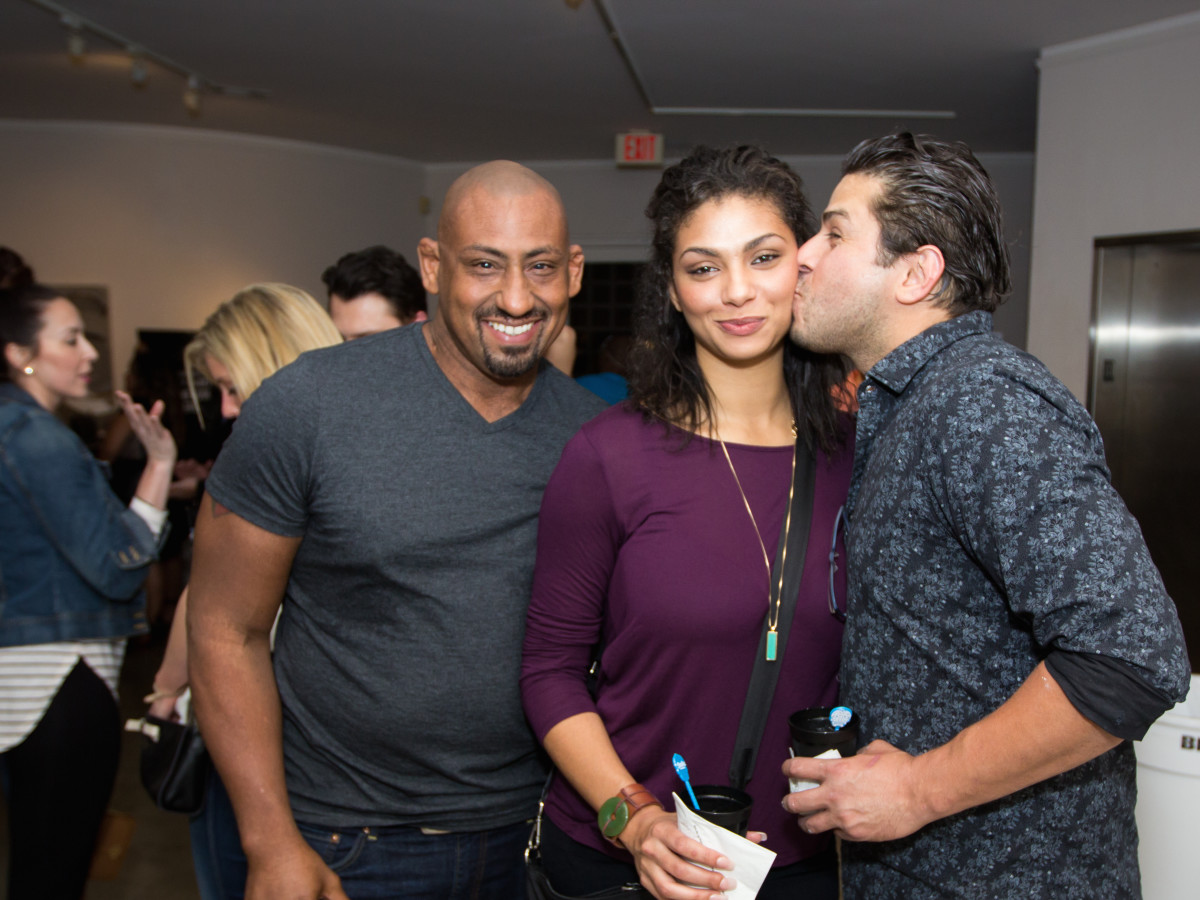 Houston, CultureMap Day of the Dead party, October 2015, Micah Simmons, Lauren Bisslessi, Andres Chapa