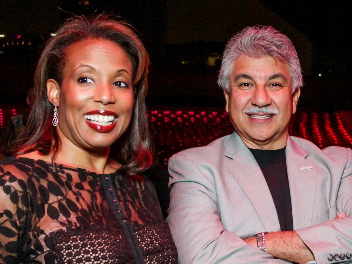 News, Shelby, Miller Outdoor Theatre gala, Oct. 2015, Desiree Morgan with Mario Ariza