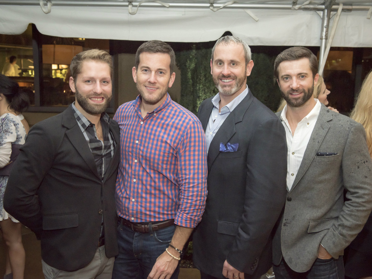 Chad Spencer, Clint Brookshire, Trent Jones, Daniel Parker