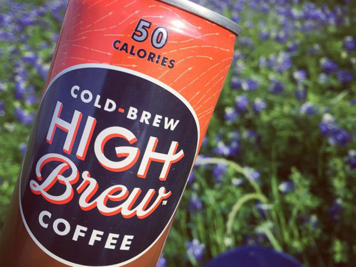 High Brew Coffee double espress flavor can