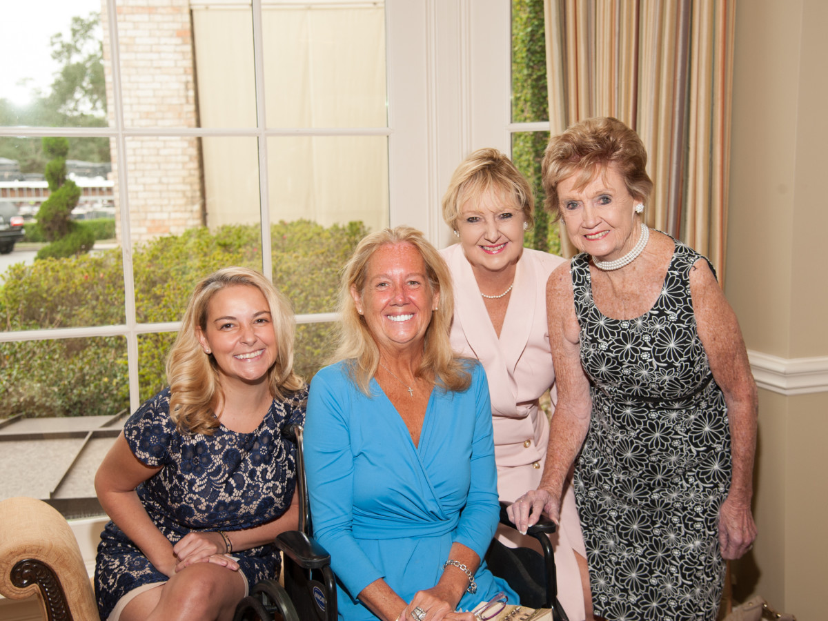 News, shelby, Foundation for Teen Health luncheon, Oct. 2015, Annie Beck, Nancy Beck Deane, Debbie Beck, Rose Beck