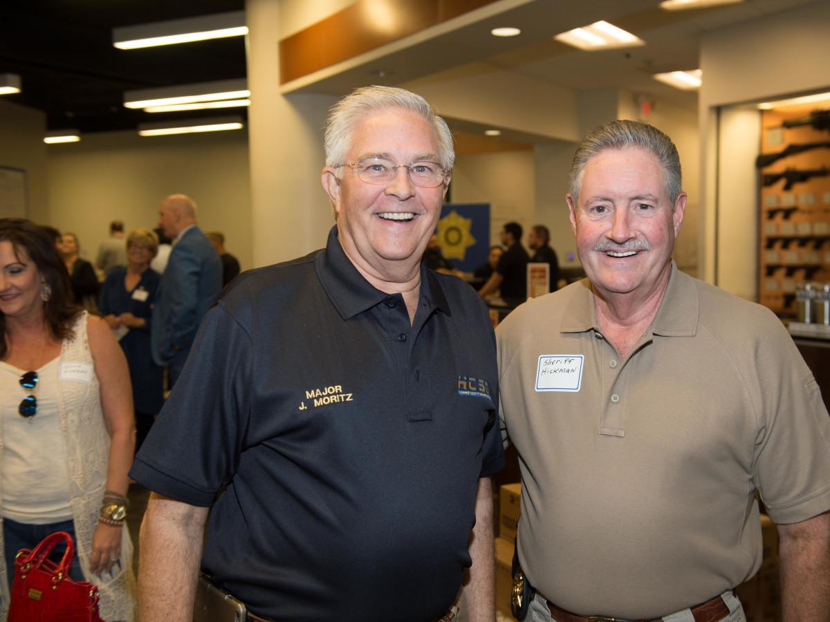 News, Shelby, Sharp Shooters, oct. 2015, John Moritz, Sheriff Ron Hickman