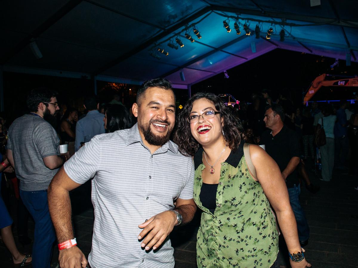 News, Shelby, MFAH Mixed Media, Oct. 2015, Juan Escoto, Annaisa Alvarez