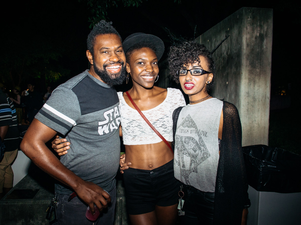 News, Shelby, MFAH Block Party, Oct. 2015, Trae Brown, Erica S., Blythe Mckay