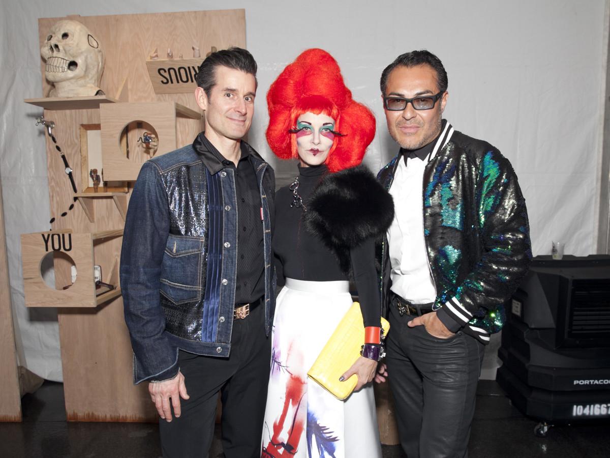 Douglas Carney, Nancy Rodgers, Michael Flores