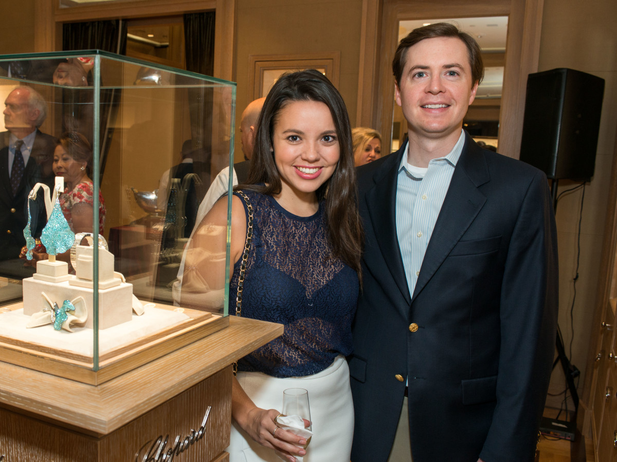 News, Shelby, Chopard opening, Oct. 2015, Alexandra Carreno, Rick Haines