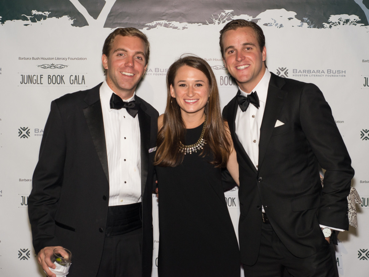 News, Shelby, Barbara Bush Literacy YP gala, Brant Williamson, Katie Brawner, Trevor Howard