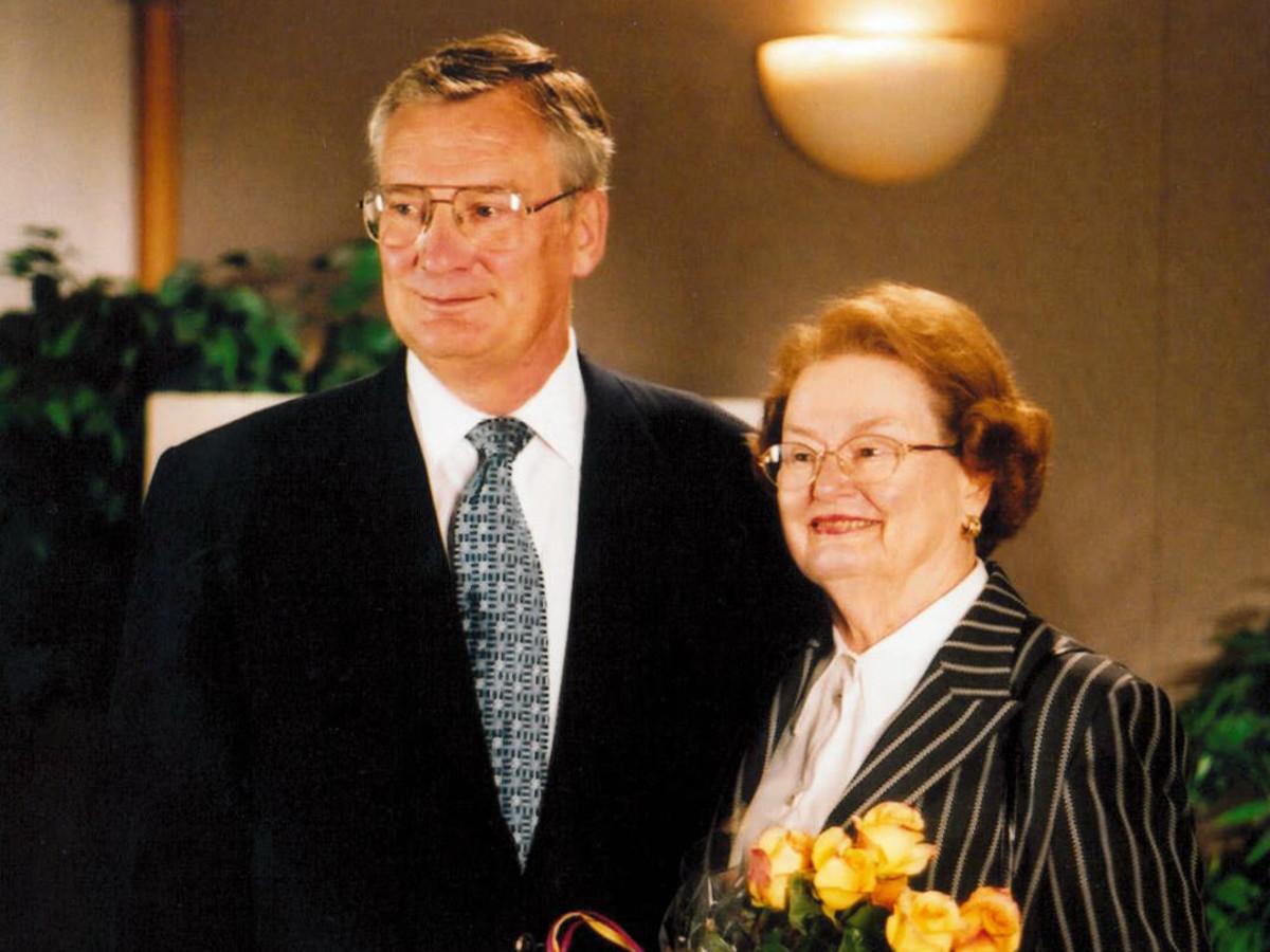 Bill and Margot Winspear