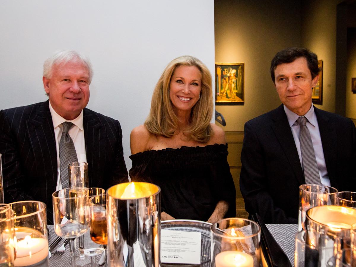 Tom Ford dinner John Thrash, Janet Hobby, Josef Helfenstein