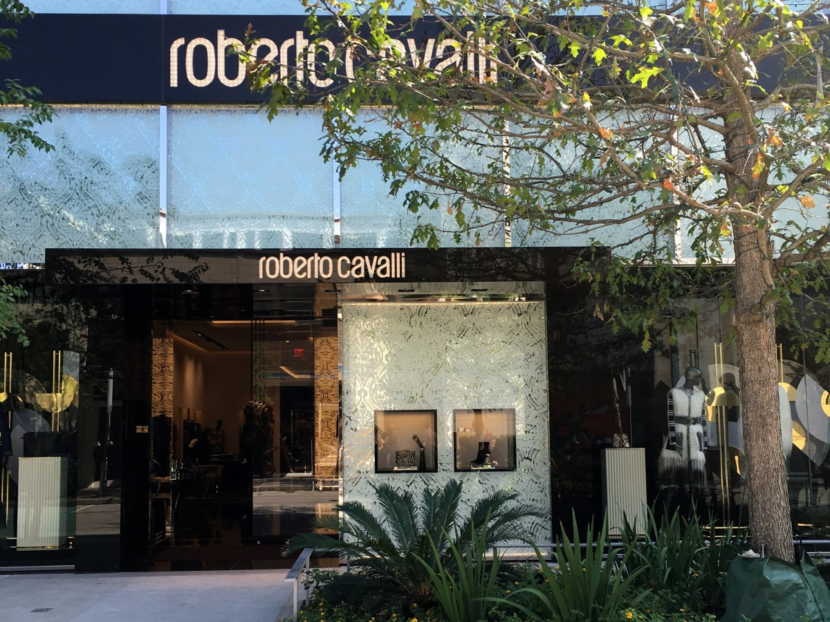 Houston, River Oaks District, October 2015, Roberto Cavalli