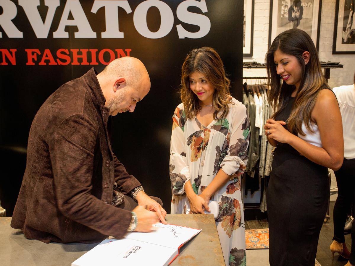 John Varvatos book signing