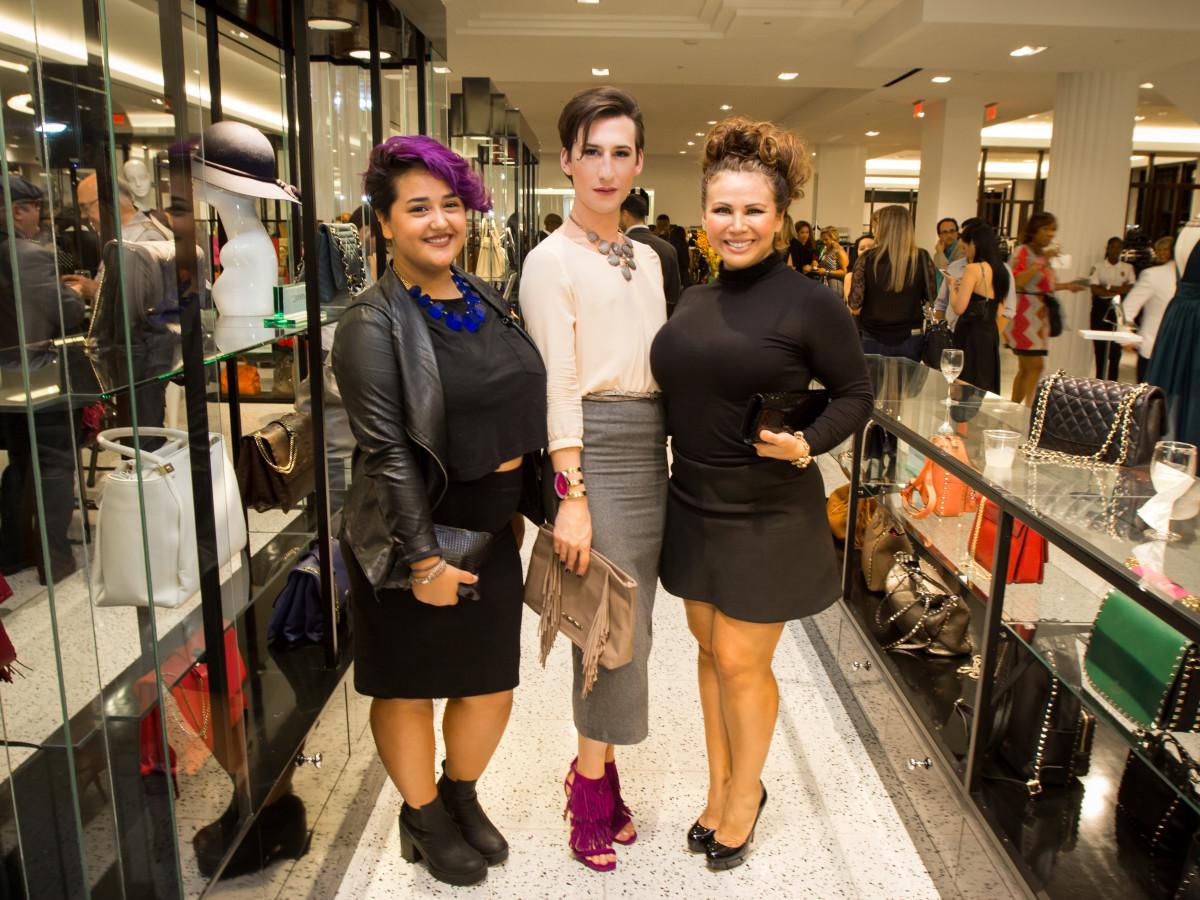 Houston Stylemakers 2015 Sophia Olivares, Justin Hellyer, Marissa Garza