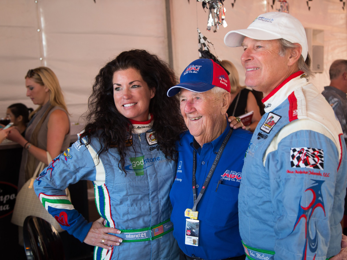 Houston, Mica Mosbacher Racing Forward event, October 2015, Karen Garrett, Jimmy Greer, John McCutchen