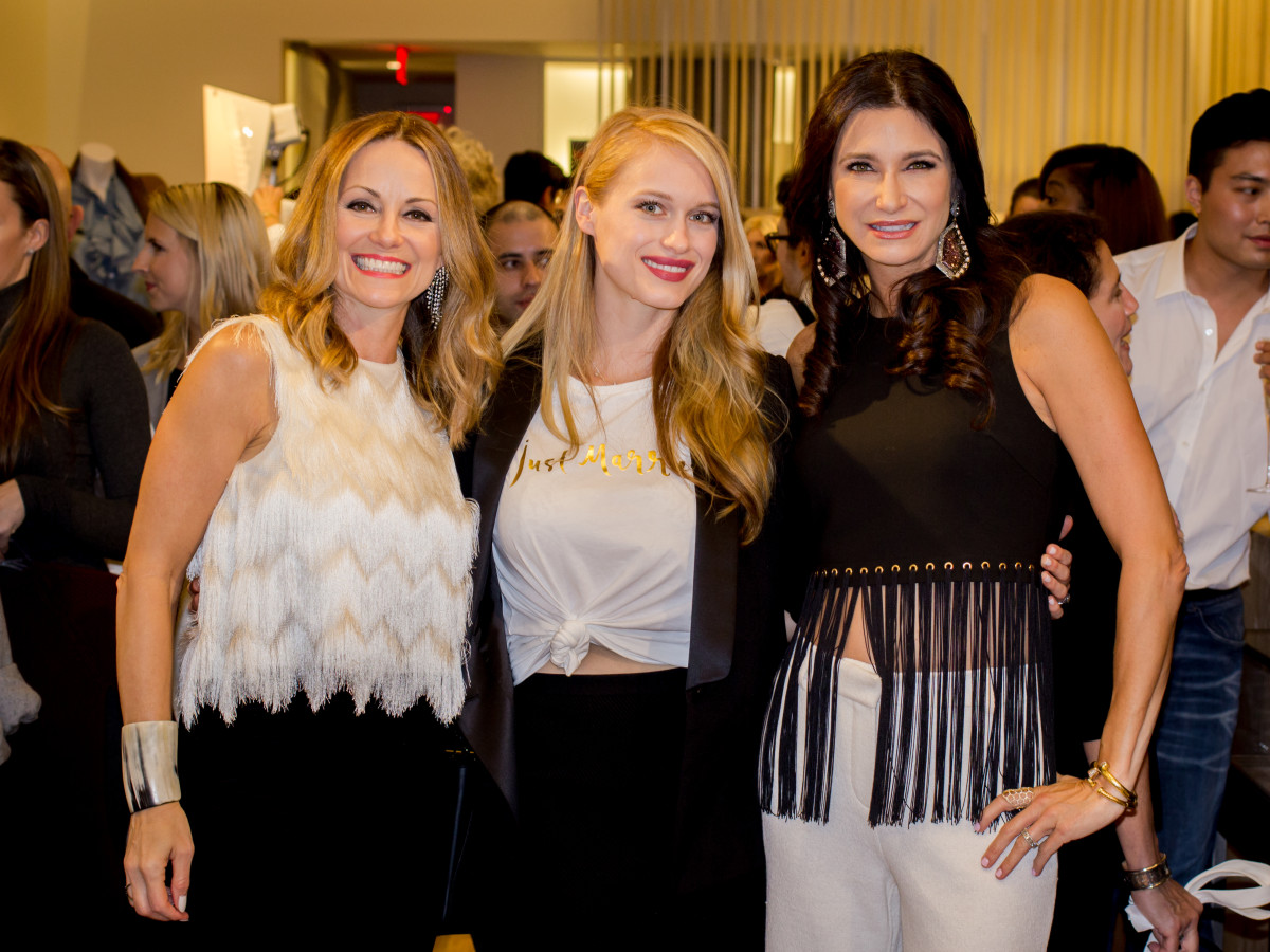 News, Shelby, Intermix opening, Oct. 2015 Lucinda Loya, Leven Rambin, Melissa Mithoff,