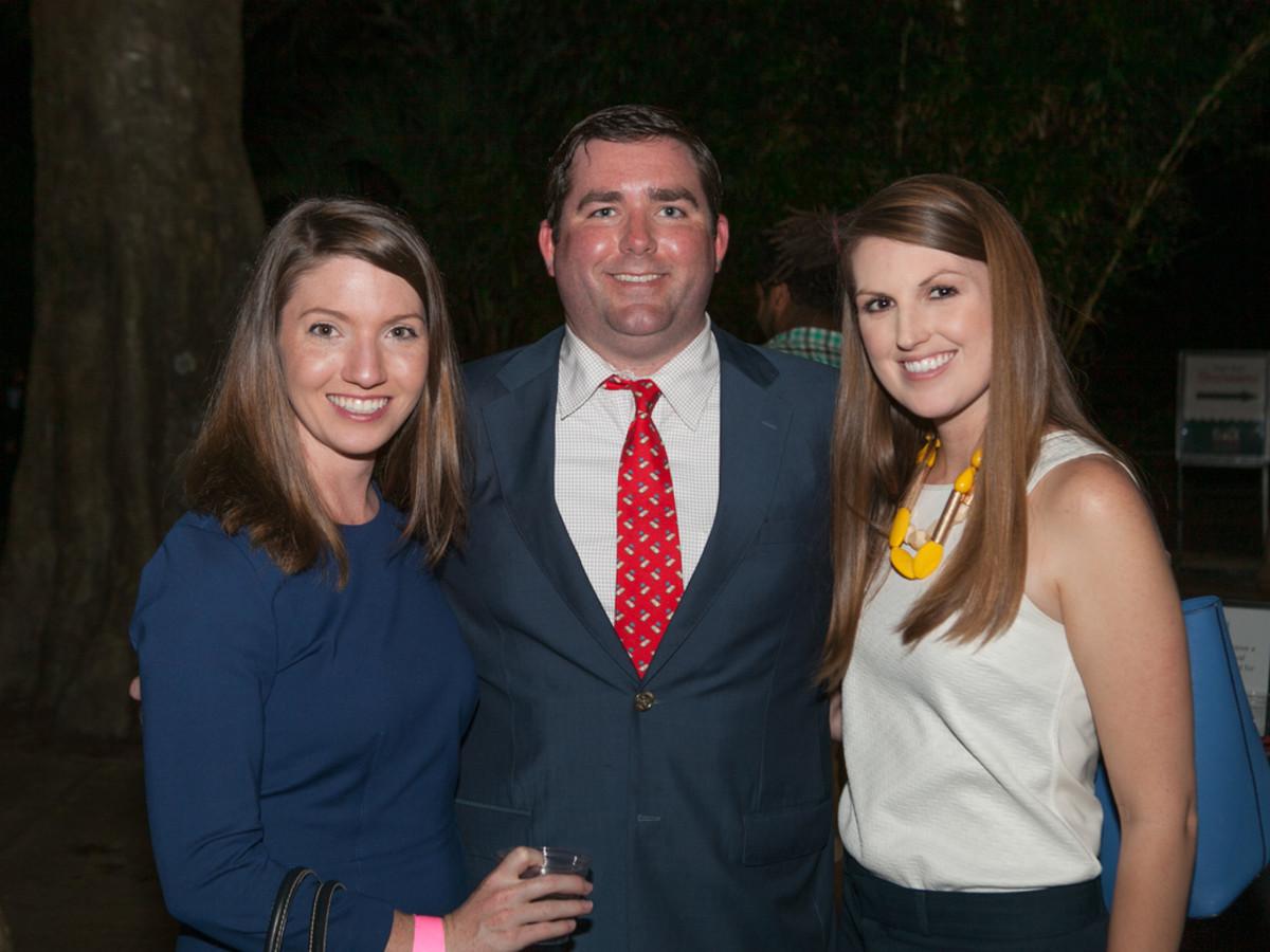 Houston Zoo YP D'Lexis Royce, Thomas Royce, Caitlin Donahoe