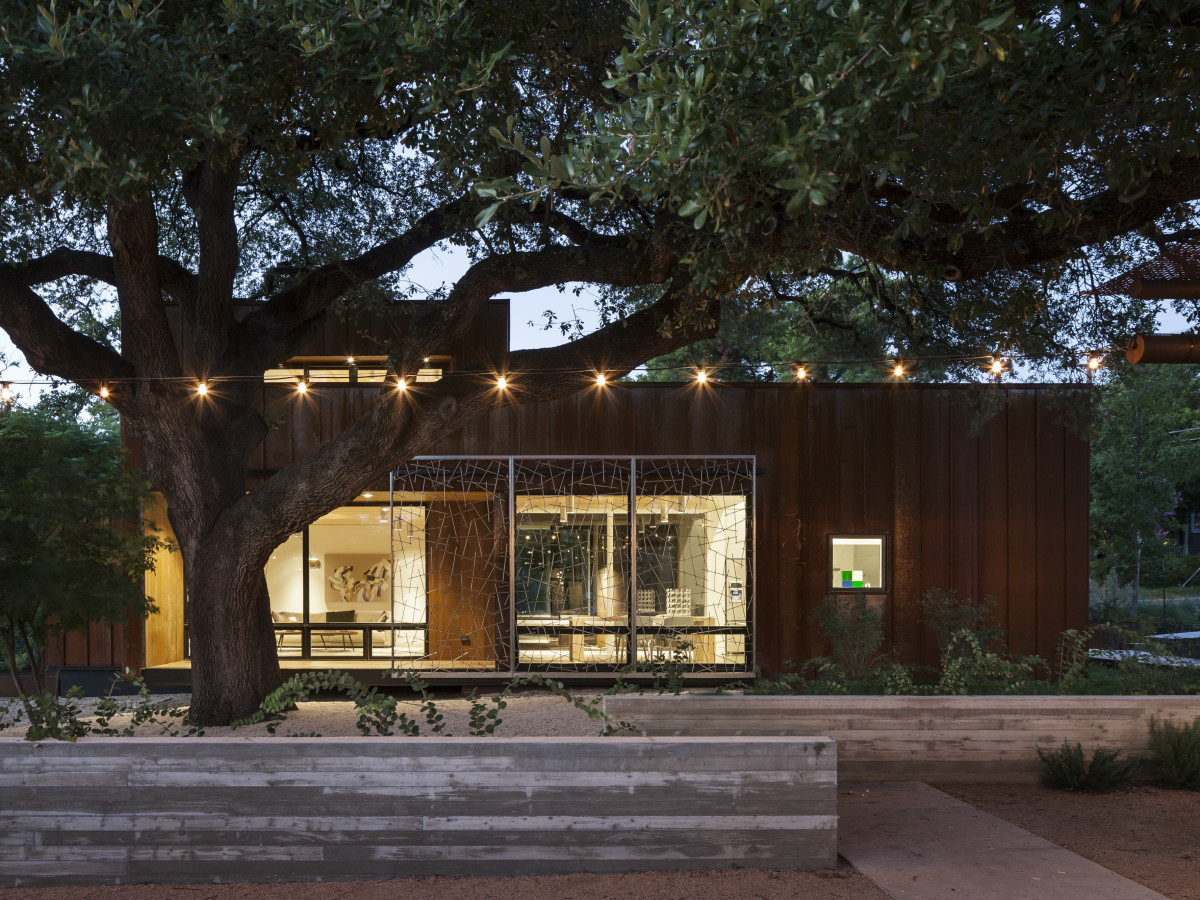 AIA Austin Homes Tour 2015 Charles Di Piazza & Chris Cobb exterior