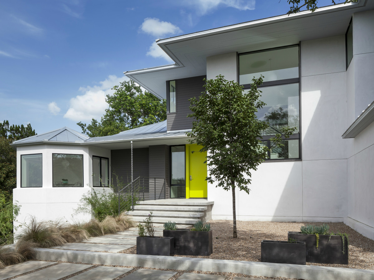 AIA Austin Homes Tour 2015 Arbib Hughey Design exterior - CREDIT ARBIB in caption IF USING