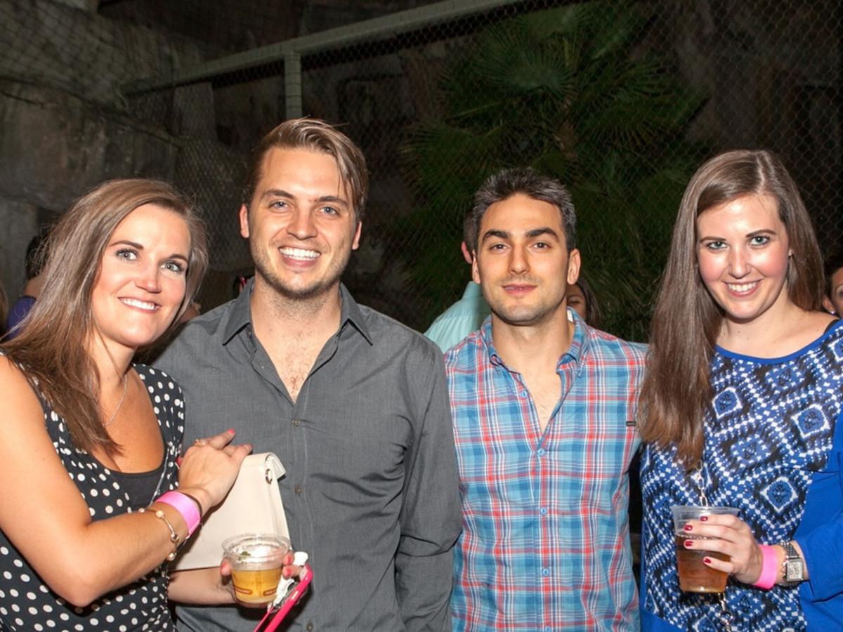 Houston Zoo YP Brittany Jefferson, Cole Smith, Tom Elias, Kelsi Woods