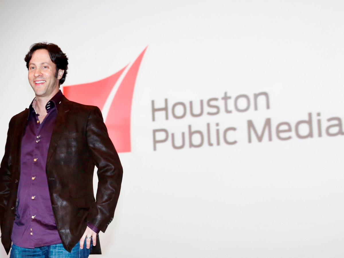 David Eagleman at screening of The Brain Houston Public Media