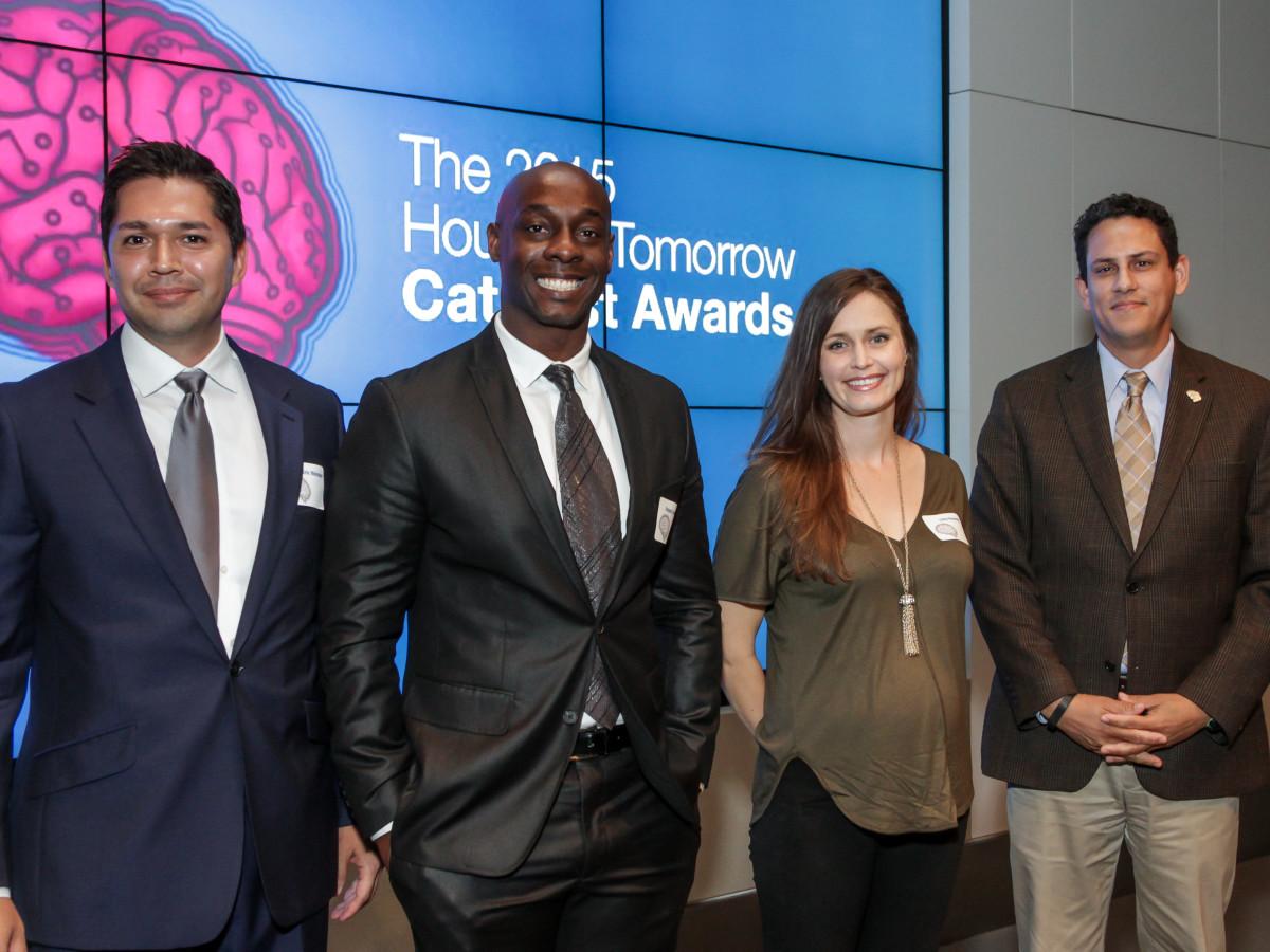 Houston, Houston Tomorrow Catalyst Finalists, October 2015, Eric Melchor, Gregory Jones Jr., Libby Kennedy, Jaime Gonzalez