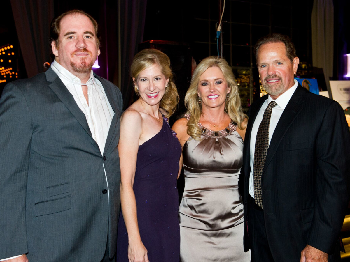 Houston, Friends for Life Among Friends gala, October 2015, Micheal McWilliams, Christine McWilliams, Terri Peak, Roger Peak