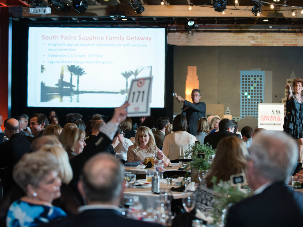 NCMEC Texas Heroes for Children Gala 2015 auction