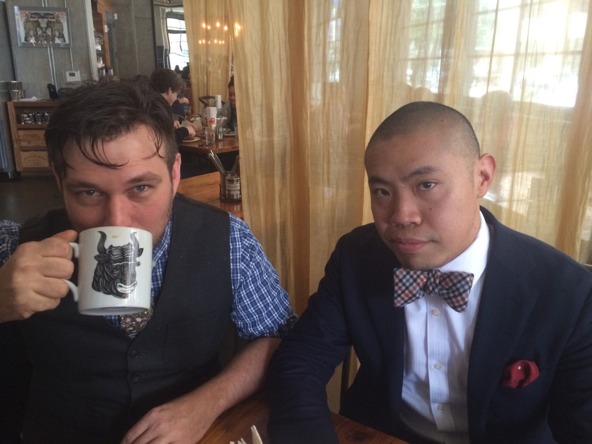 David Buehrer John Letoto Blacksmith coffee